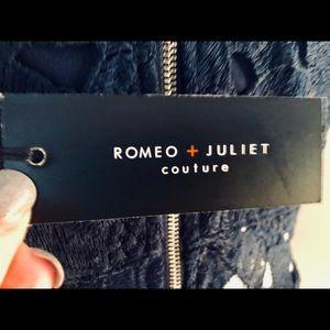 Romeo & Juliet Couture Dresses - Romeo + Juliet Couture Navy Sheath Dress